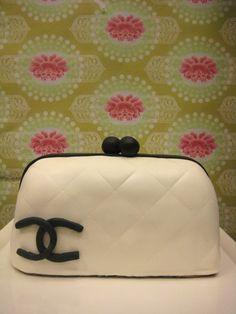 Channel purse cake