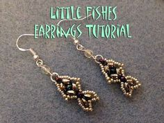 Little Fishes Earrings Tutorial - YouTube