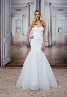 LOVE by Pnina Tornai for Kleinfeld 14481 Mermaid Wedding Dress ...