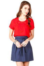 Sebring Polka Dot Skirt