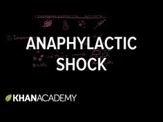 Anaphylactic shock - YouTube Disability Application, Professional Nurse, Nclex Rn, Medical Careers, Circulatory System, Pharmacology, Test Prep, Physical Therapy, Nursing