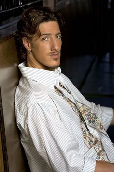 """I have posted to my Love By Design board before that I think Kevin Richardson could pass for Derrek's buddy Fisher """"Fish"""" Hamilton, but as I was rereading through a scene tonight, Eric Balfour, from Haven came to mind as Fisher. Mmmm Mmmm Mmmm...Starting to think I might have to write a short story for Fish...yep. ;) And he has the chocolatey brown eyes that Fish has."""