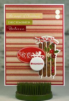 Magic of Christmas Christmas Card HoHoHo December by thecardkiosk