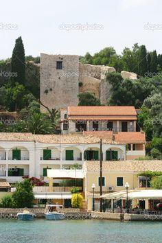 Kassiopi town - Corfu by Vladimir Jovanovic #Greece #Corfu #Greek