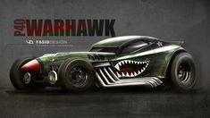 Warhawkp40rod by yasiddesign.deviantart.com on @DeviantArt