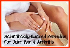 remedies for joint pain and arthritis