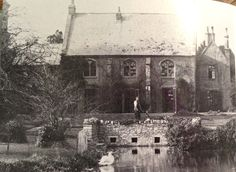 the Principals house,  Wells wher she grew up from the age of 2