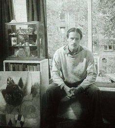 1/15- Happy Birthday, Eugène Brands, Dutch painter, member of the Cobra movement, 1914-2002.