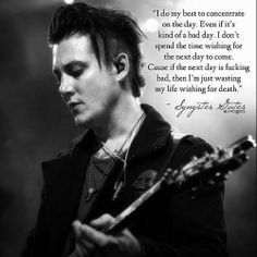 Syn Gates quote, Avenged Sevenfold