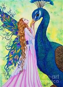 My Steed Fairy and peacock by Kyra