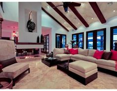look at this amazing living room in  Aransas Pass TEXAS