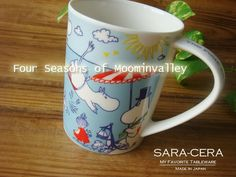 ムーミン マグカップ summer(夏) Four Seasons of Moominvalley :B0001608:お気に入り食器 サラセラジャパン… Four Seasons, Japan, Mugs, My Favorite Things, Tableware, How To Make, Dinnerware, Tumblers, Tablewares