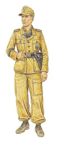 Hermann Goering division - Sargento, Regimiento Panzer, Italia, verano de 1943. Pin by Paolo Marzioli