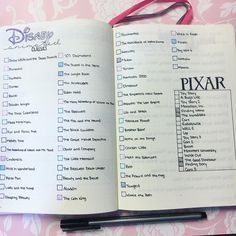kids movie Confession Time: I like most kids movies more than adult movies So the good ole classics got a whole spread in my journal. Now time to find and purchase alllllll the movies. Bullet Journal Notebook, My Journal, Journal Pages, Journals, Movie Bullet, Disney Parque, Children's Films, Disney Movies To Watch, Kid Movies