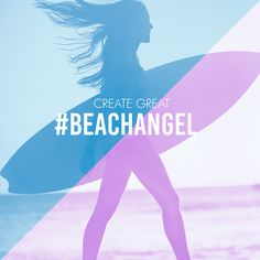 BEACH ANGEL: the perfect layering of The fresh smell of the beach with a touch of sweetness. Create your own #great layered scents at bit.ly/creategreat and repin if you are a #beachangel.