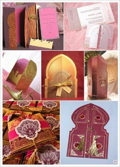 Aladdin themed birthday party.  Invitation ideas. Oriental wedding invitation cards
