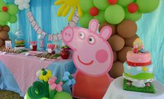 Peppa Pig Birthday Party Ideas | Photo 29 of 41 | Catch My Party