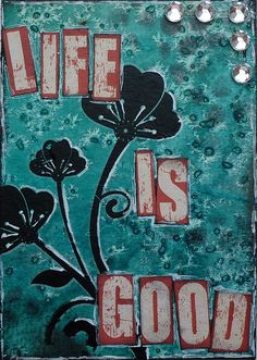 Life is good.  Visit & Like our Facebook page! https://www.facebook.com/pages/Rustic-Farmhouse-Decor/636679889706127