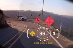 BMW Heads-Up Display Helmet