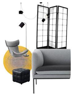 líneas puras by albaperezvte on Polyvore featuring polyvore interior interiors interior design home home decor interior decorating ferm LIVING Diamond Sofa Flos Modloft BoConcept