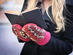 Mittens made with upcycled sweaters by Katie Ames Refashions. American Made. See the designer's work at the 2016 American Made Show, Washington DC. January 15-17, 2016. americanmadeshow.com #americanmadeshow, #americanmade, #mittens, #upcycled January 15, Red Apple, American Made, Refashion, Washington Dc, Mittens, Sweaters, Closet, Armoire