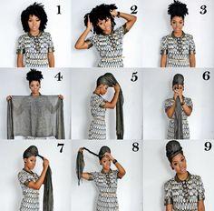 how to tie a turban IG- natashaleeds www.stylishlee.com