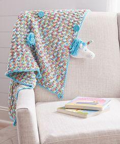 Ravelry: Unicorn Baby Blanket pattern by Amanda Saladin