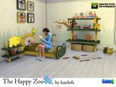 Sims 4 CC's - The Best: The Happy Zoo by Kardofe