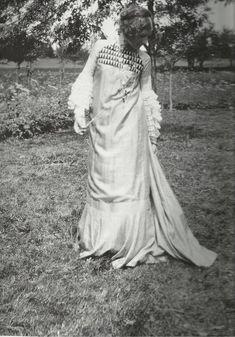 ¤ Emilie Floge dans une création de son compagnon Gustav Klimt
