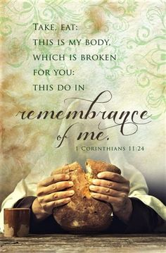 Bulletin - Communion - Remembrance Of Me (Pack Of Favorite Bible Verses, Bible Verses Quotes, Bible Scriptures, Holy Thursday Quotes, Live And Learn Quotes, Communion Prayer, Lords Supper, Jesus Resurrection, Bible Encouragement