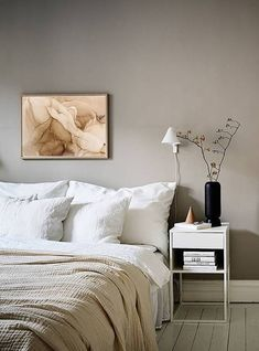 Minimalist Bedroom, Minimalist Home, Home Design, Design Blog, Modern Design, Design Crafts, Design Design, Design Ideas, Beige Walls