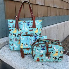 Disney Dog Dooney & Bourke bags- Must get at Ever After Jewelry Co. Disney Handbags, Disney Purse, Purses And Handbags, Coach Disney, Dooney And Bourke Disney, Disney Dooney, Dooney Bourke, Disney Baby Clothes, Disney Outfits