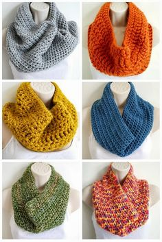 Deer Little Fawn: Simple #Crochet Cowl - Free Pattern
