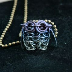 #Chainmaille #Owl