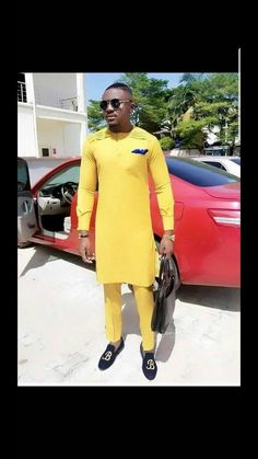 African men clothing african mens shirt and pants. African Dresses Men, African Clothing For Men, African Shirts, African Wear, African Attire, African Style, Nigerian Men Fashion, African Men Fashion, Africa Fashion