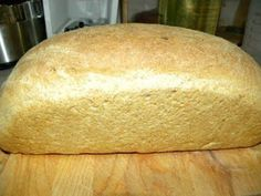 Cookin' with Super Pickle: Overnight Wheat Sour Dough Bread