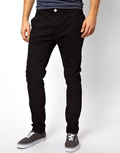 River Island Chinos in Skinny Stretch