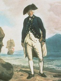 Captain Arthur Phillip who led the First Fleet to Australia in 1788. He established the penal colony that was to become Sydney and served as the first Governor of New South Wales from 1788 to 1792.