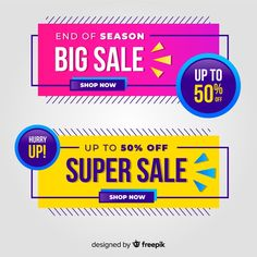 Discover thousands of copyright-free vectors. Graphic resources for personal and commercial use. Thousands of new files uploaded daily. Sale Banner, Web Banner, Banners, Text Design, Vector Design, Design Design, Design Elements, Price Tag Design, Vintage Typography