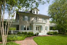Love this Maryland home's classic facade! - Traditional Home®    Photo: Gordon Beall