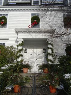 81 Best Colonial Decorated Door Images Colonial