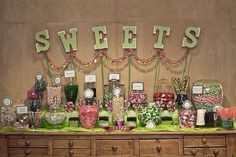 Image detail for -... wedding,sonoma wedding,candy display,candy table,candy buffet,dessert