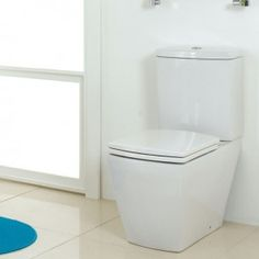 Phoenix Mac Q Close Coupled Pan and Cistern with Luxury Soft Close Seat Traditional Toilets, Close Coupled Toilets, Back To Wall Toilets, Wall Hung Toilet, Big Bathrooms, Bathroom Toilets, Phoenix, Mac, Luxury