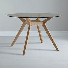 Buy John Lewis Akemi Round 4 Seater Dining Table Online at johnlewis.com