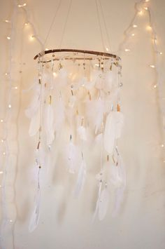 Wedding Dreamcatcher/Dreamcatcher Mobile by TheBigSkyPlace on Etsy, $190.00