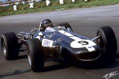 1967 GP Wielkiej Brytanii (D. Gurney) Eagle T1G - Weslake