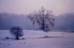 Kami Mendlik - Winter Song- Oil