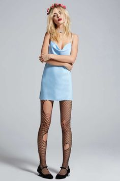 Love, Courtney by Nasty Gal Malibu Satin Slip Dress - Clothes | Going Out | Solid | Sleep | Lingerie Accessories | Dresses | Lingerie