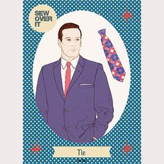 Learn to make a tie with our new Tie pattern! The perfect gift for Father's Day!