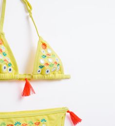 Image 3 of Mirror embroidery bikini from Zara